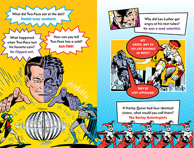31ff1cd8afd774 Click on thumbnails to see interior spreads. The Official DC Super Hero  Joke Book